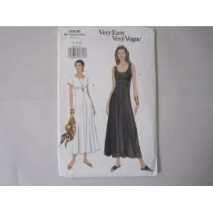 Vogue Pattern 8936 VeryEasy VeryVogue Dress Sizes 14 16 18