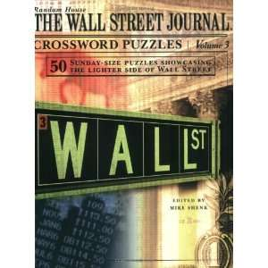 The Wall Street Journal Crossword Puzzles, Volume 3