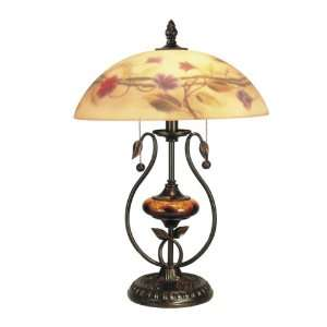 Dale Tiffany RT60294 Mollington Table Lamp, Antique Golden