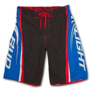 Bud Light Side Logo Blue Black Mens Swim Trunks Board Shorts Clothing