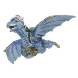 Blue Dragon Christmas Ornament