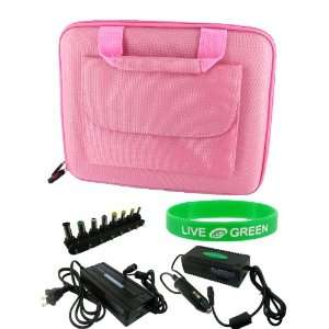 Case with Universal Wall Charger   Cube Pocket Pink: Electronics