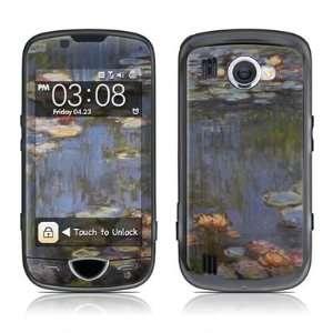 Monet   Water lilies Design Skin Decal Sticker for the Samsung