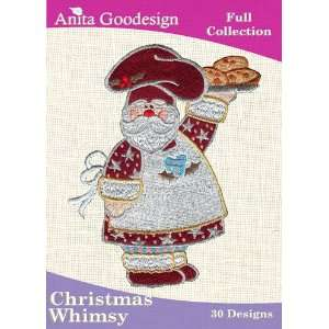 Embroidery Designs Cd Christmas Whimsy: Arts, Crafts & Sewing