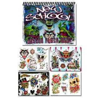 Traditional Tattoo Flash Set Ink Bomb Sketchbook