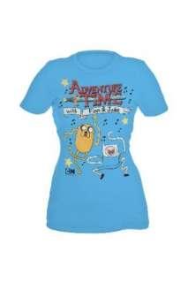 Adventure Time Science Dance Girls T Shirt Plus Size 3XL