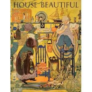 House Beautiful Alice Bolam Preston Art   Original Cover Home