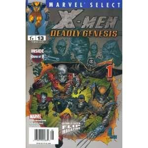 Marvel Select Flip Magazine #13 : X Men Deadly Genesis & Phoenix