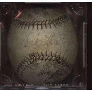 Autographed Babe Ruth Ball   Lou Gehrig Lazzeri JSA LOA   Autographed