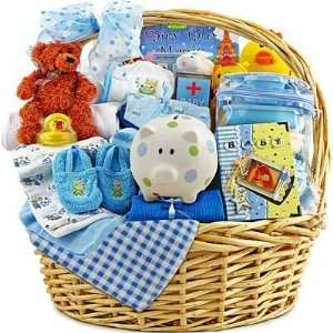 The Ultimate Baby Boy Gift Basket Baby
