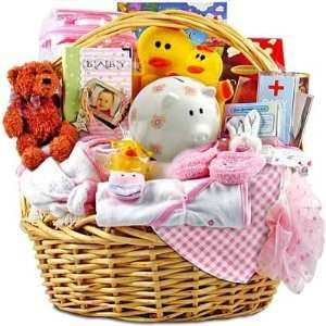 The Ultimate Baby Girl Gift Basket Baby
