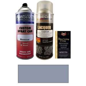 12.5 Oz. Steel Blue Metallic Spray Can Paint Kit for 2001 BMW 5 Series