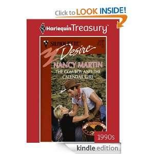 The Cowboy And The Calendar Girl: Nancy Martin:  Kindle