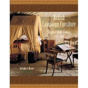 British Campaign Furniture: Elegance Under Canvas, 1740