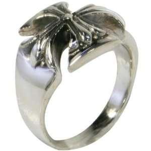 Diecut Iron Cross Ring   6 Jewelry