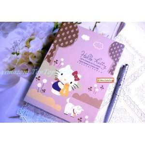 Sanrio Hello Kitty Diary School Work Scrapbook Lined Note