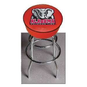 Alabama Crimson Tide 30 Double Ring Swivel Bar Stool with