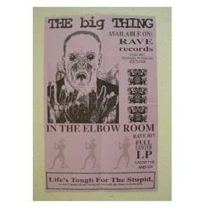 The Big Thing Poster In The Elbow Room