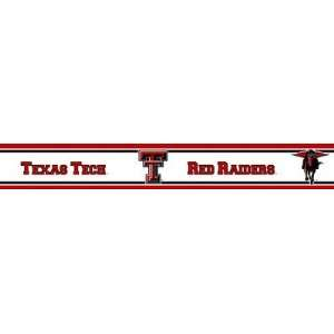 Texas Tech Red Raiders Wallpaper Border Trademarx
