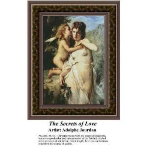 The Secrets of Love, Cross Stitch Pattern PDF Download