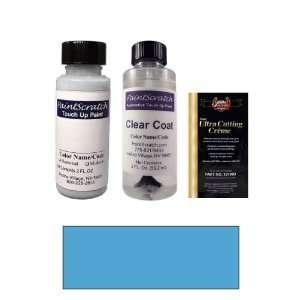 2 Oz. Sky Blue Metallic Paint Bottle Kit for 1999 Suzuki