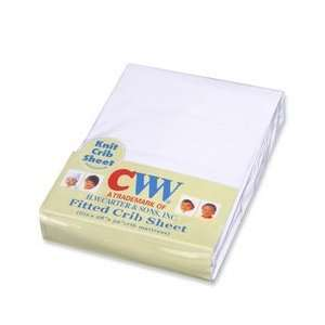 Baby Crib Sheets   White Baby
