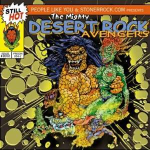 Mighty Desert Rock Avengers Various Artists Music