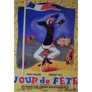 JOUR DE FETE (FRENCH REPRINT) Movie Poster: Home & Kitchen