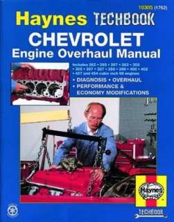 Haynes 10305 Chevrolet Engine Overhaul Haynes Techbook at OutdoorPros