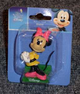 Disney Bobble Head Magnet Figurine Minnie Mouse |