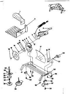 RIVAL Electric food slicer Parts  Model 1030V SLICER
