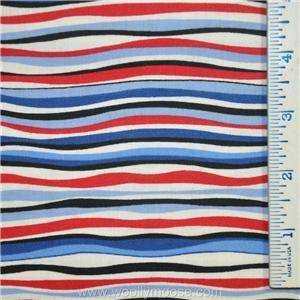 HALF YARD Red Rooster AMERICAN QUILTS OF VALOR Stars BLUE Patriotic