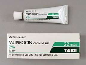 Picture MUPIROCIN 2% OINTMENT 22GM  Drug Information  Pharmacy
