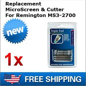 Replacement Microscreen Cutter For Remington MS3 2700