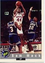 1992 Classic #67 Sam Mack