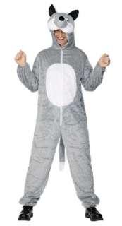 fabric fur costume Wolf unisex wolf plush costume costume   Racheshop