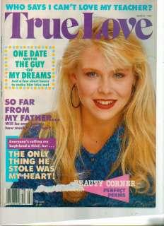 True Love Magazine March 1989 Short Stories