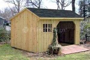 10 Firewood Storage Shed Plans/Blueprints #70810
