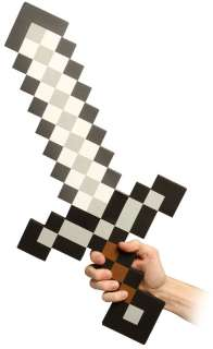ThinkGeek :: Minecraft Foam Sword