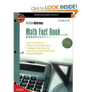 Math Fact Book Grades 4 8 (Notebook Reference) 2nd