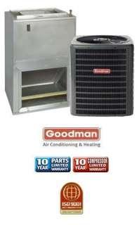 Ton 13 Seer Goodman Heat Pump System   GSZ130241   AWUF24051
