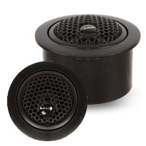 Audiobahn AT60J 5/8 Inch (16mm) Silk Dome Tweeters Car