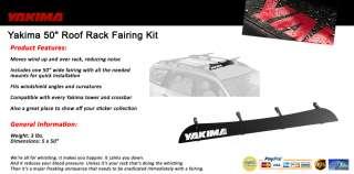 Yakima 50 Roof Rack Fairing Kit Wind Deflector
