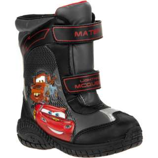 Disney   Toddler Boys Cars Winter Boots Shoes