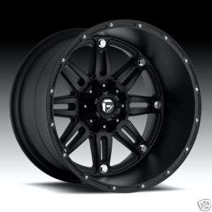 Offroad HOSTAGE 20x12 Black XD Chevy Ford Dodge TRUCK Wheels RIMS Set