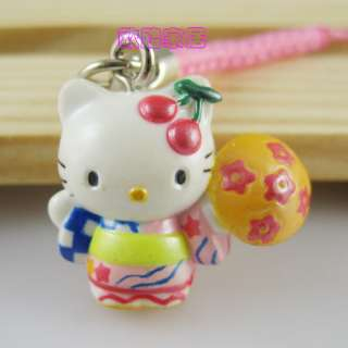 Brand New Lovely Cell Phone Strap Charm   Hello Kitty 522