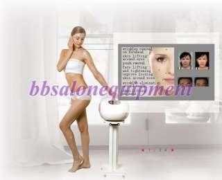 Máquina delgada del balneario del cuerpo facial monopolar de la