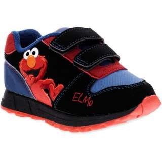 Walmart Sesame Street   Toddlers Elmo Velcro Sneakers Shoes