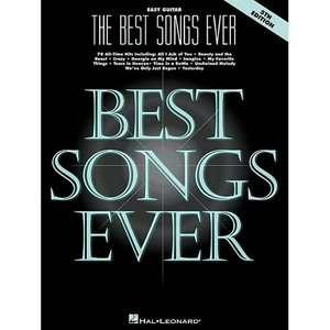 The Best Songs Ever, Easy Guitar, Hal Leonard Publishing