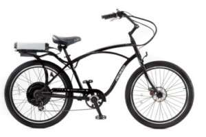 PEDEGO COMFORT CRUISER ELECTRIC BICYCLE BIKE BLK SILVER